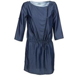 tekstylia Damskie Sukienki krótkie Chipie JULIETTE Niebieski