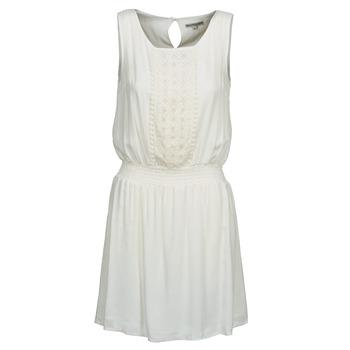 tekstylia Damskie Sukienki krótkie Best Mountain ROBALA Biały
