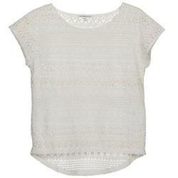 tekstylia Damskie T-shirty z krótkim rękawem Best Mountain SOLI Biały