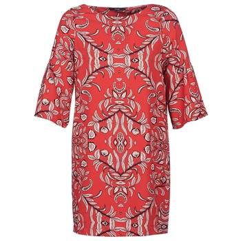tekstylia Damskie Sukienki krótkie Vero Moda VMGYANA Czerwony