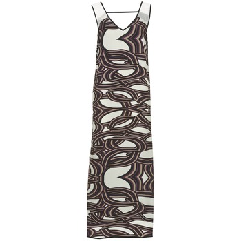 tekstylia Damskie Sukienki długie Sisley SIXIOL Wielokolorowe