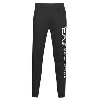 tekstylia Męskie Spodnie dresowe Emporio Armani EA7 TRAIN TRITONAL M PANTS CH BR Czarny / Biały