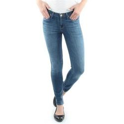 tekstylia Damskie Jeansy skinny Lee Jeansy  Scarlett Blue L526SVIX niebieski