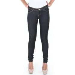 tekstylia Damskie Jeansy skinny Lee Spodnie  Toxey Rinse Deluxe L527SV45 niebieski