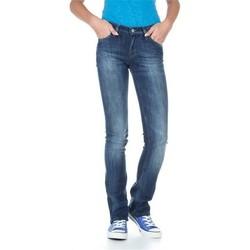 tekstylia Damskie Jeansy slim fit Lee Bonnie L302ALFR niebieski