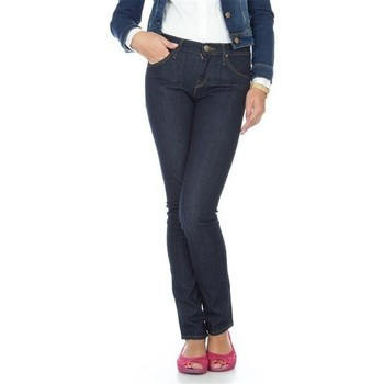 tekstylia Damskie Jeansy slim fit Lee Jade L331OGCX niebieski
