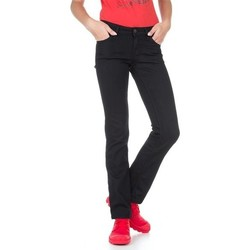 tekstylia Damskie Jeansy slim fit Lee Marlin L337DROC czarny