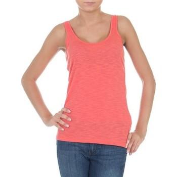 tekstylia Damskie Topy na ramiączkach / T-shirty bez rękawów Wrangler Essential Tanks W7244GRHJ różowy