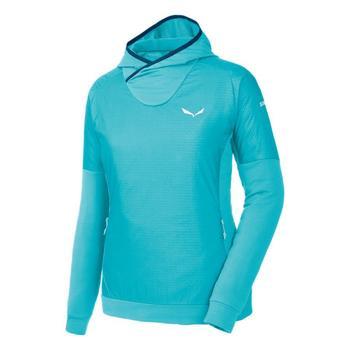 tekstylia Damskie Polary Salewa Bluza  Pedroc PTC Alpha W Hoody 26355-3390 niebieski