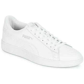 Buty Męskie Trampki niskie Puma PUMA SMASH V2 L Biały