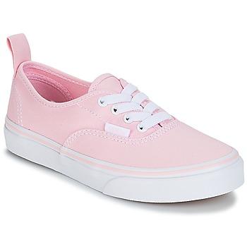 Buty Dziewczynka Trampki niskie Vans UY AUTHENTIC Różowy