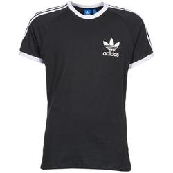 tekstylia Męskie T-shirty z krótkim rękawem adidas Originals SPORT ESS TEE Czarny