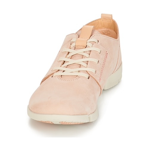 Clarks Tri Caitlin Nude / Pink - Bezpłatna Dostawa- Buty Trampki Niskie Damskie 24450 Najniższa Cena