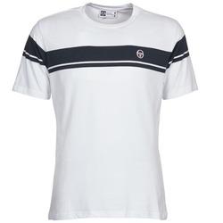 tekstylia Męskie T-shirty z krótkim rękawem Sergio Tacchini YOUNG LINE Biały