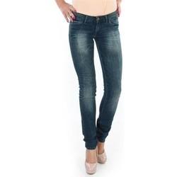 tekstylia Damskie Jeansy skinny Wrangler Spodnie  Molly 251XB23C niebieski
