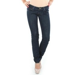 tekstylia Damskie Jeansy straight leg Lee Lynn L340AGNA czarny