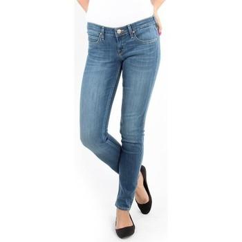 tekstylia Damskie Jeansy skinny Lee Spodnie Damskie  357SVIX Lynn  Skinny niebieski