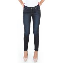 tekstylia Damskie Jeansy skinny Lee Spodnie  Scarlett L526SWWO niebieski