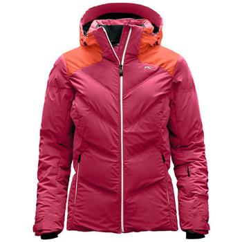 tekstylia Damskie Kurtki pikowane Kjus Kurtka  Ladies Snow Down LS15-709 30518 różowy