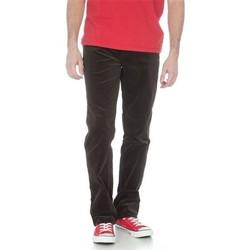 tekstylia Męskie Jeansy straight leg Wrangler Texas Stretch W12198160 czarny