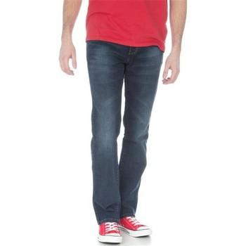 tekstylia Męskie Jeansy straight leg Wrangler Arizona Stretch El Camino W12O8343C niebieski