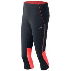 tekstylia Damskie Spodnie dresowe New Balance WP53222DAF niebieski