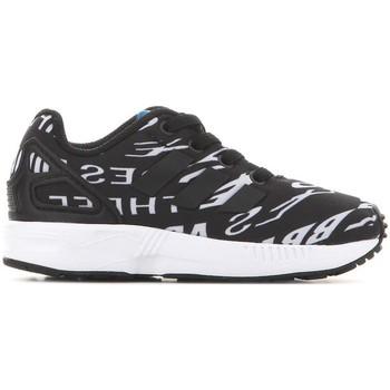 Buty Dziecko Trampki niskie adidas Originals Adidas ZX Flux EL I BB2434 czarny