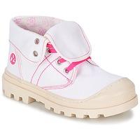 Buty Dziewczynka Buty za kostkę Citrouille et Compagnie BASTINI Biały
