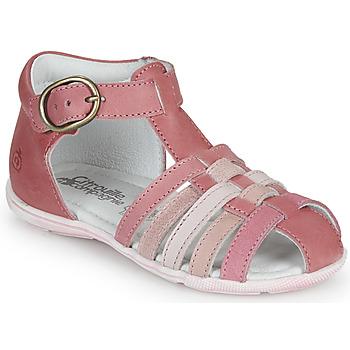 Buty Dziewczynka Sandały Citrouille et Compagnie VISOTU Różowy / Wielokolorowe