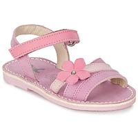Buty Dziewczynka Sandały Citrouille et Compagnie VIZIEL Fioletowy / Różowy
