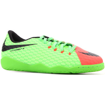 Buty Dziecko Sandały Nike JR Hypervenomx Phelon III IC 852600 308 zielony, pomarańczowy