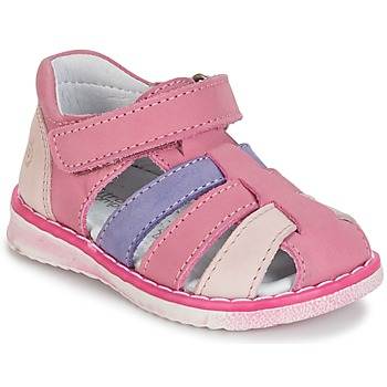 Buty Dziewczynka Sandały Citrouille et Compagnie FRINOUI Liliowy / Różowy / Fuksja
