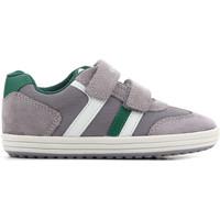Buty Dziecko Sandały Geox J Vita B J82A4B 01422 C0875 szary, zielony, biały