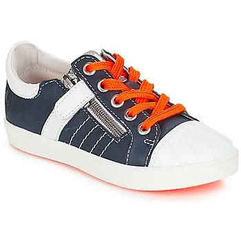 Buty Chłopiec Trampki niskie GBB MAXANCE Niebieski-biały
