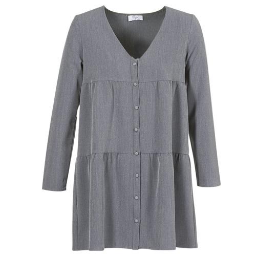 tekstylia Damskie Sukienki krótkie Betty London JOGURET Szary