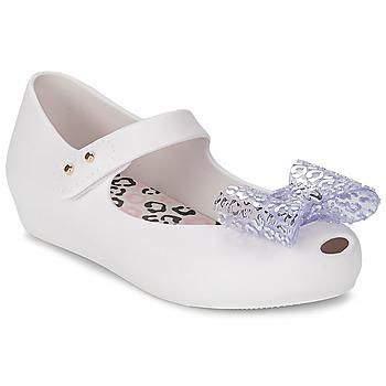 Buty Dziewczynka Baleriny Melissa MINI ULTRAGIRL MINNIE MOUSE Biały