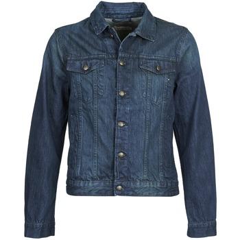 tekstylia Męskie Kurtki jeansowe Chevignon BREWA DENIM Niebieski