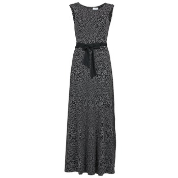 tekstylia Damskie Sukienki długie Alba Moda HEIDA Czarny