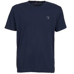 tekstylia Męskie T-shirty z krótkim rękawem Gant SOLID Marine
