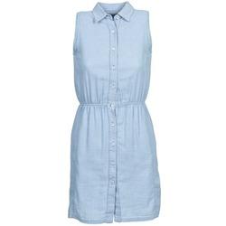 tekstylia Damskie Sukienki krótkie Gant O. INDIGO JACQUARD Niebieski