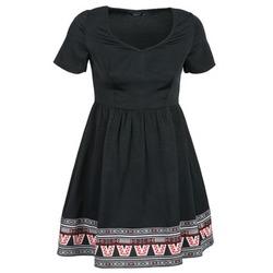 tekstylia Damskie Sukienki krótkie Eleven Paris NANA Czarny