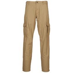 tekstylia Męskie Spodnie bojówki Napapijri MOTO Beżowy