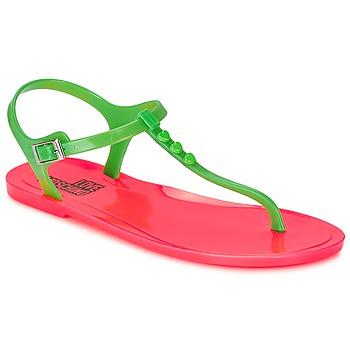 Buty Damskie Sandały Love Moschino JA16381G0KJN180A Zielony / Różowy