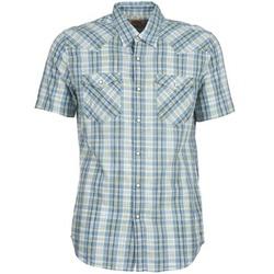 tekstylia Męskie Koszule z krótkim rękawem Levi's WOVENS Niebieski