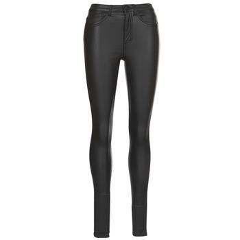 tekstylia Damskie Spodnie z pięcioma kieszeniami Only ONLROYAL Czarny