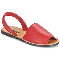 Buty Damskie Sandały So Size LOJA Czerwony