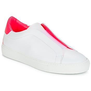 Buty Damskie Trampki niskie KLOM KISS Biały / Różowy