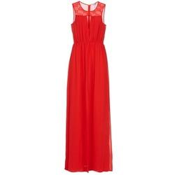 tekstylia Damskie Sukienki długie BCBGeneration LONU Czerwony