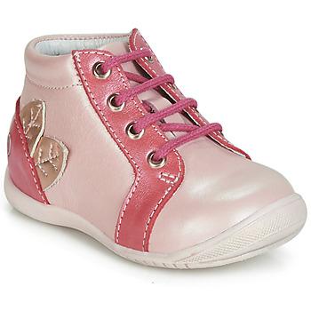Buty Dziewczynka Trampki wysokie GBB FRANCKIE Różowy