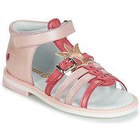 Buty Dziewczynka Sandały GBB CARETTE Różowy